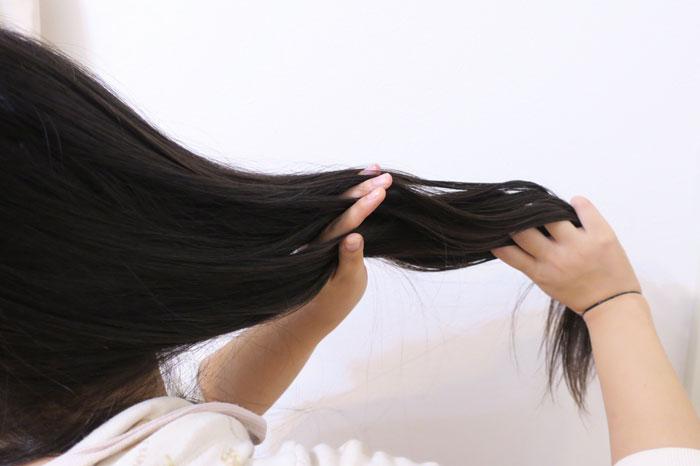 髪の広がりを抑える対処法